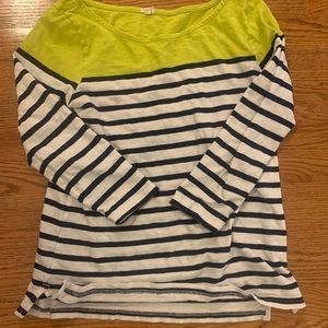 Jcrew boatneck shirt small striped